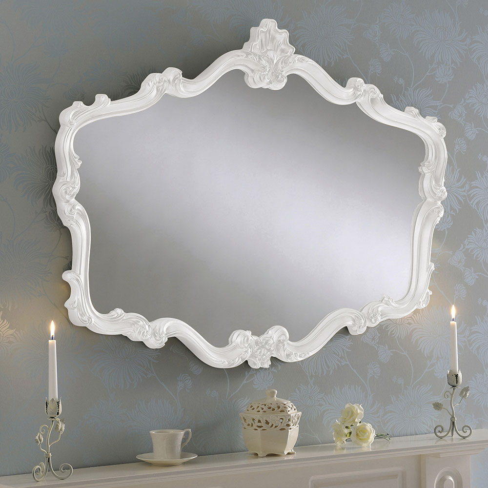 Gold Regency Ornate Mirror