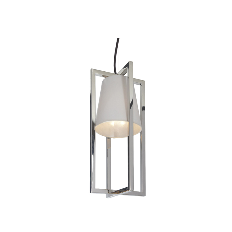 Hurricane Nickel Hanging Pendant Light