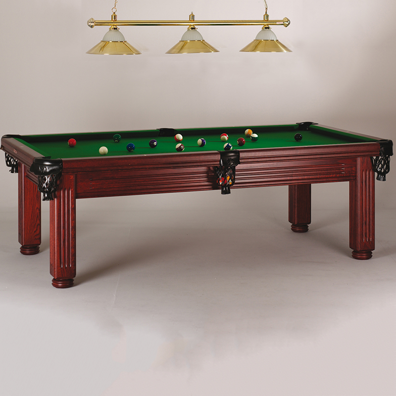 Oporto 7ft Solid Hardwood Pool & Entertainment Dining Table