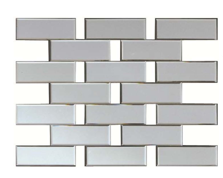 Prestige Rectangular Brick Mirror
