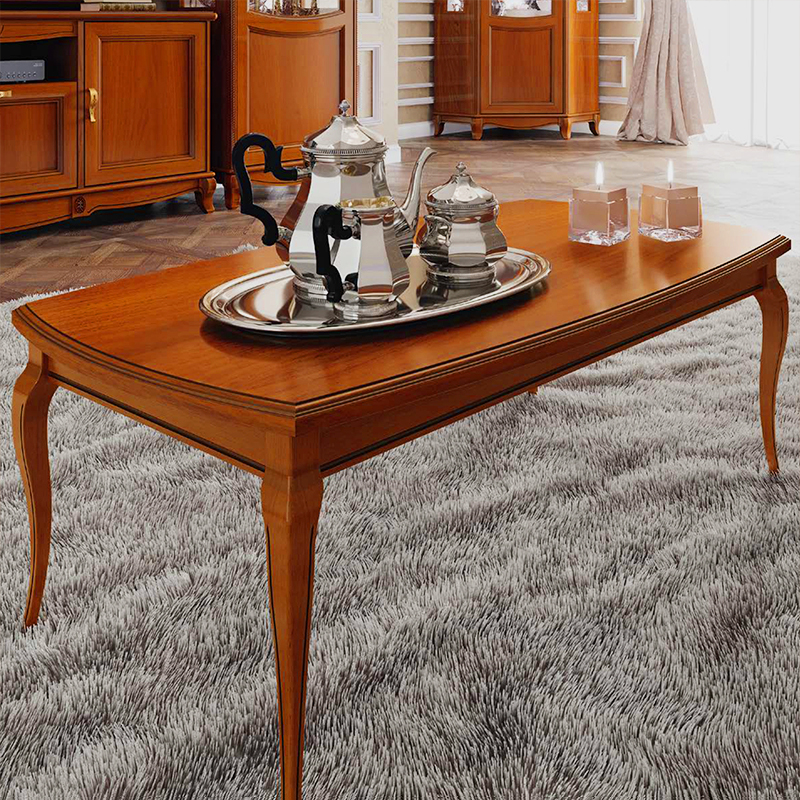 Fabrina Walnut Coffee Table