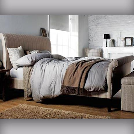 Filgrave Roll Top Sleigh Low End Bed
