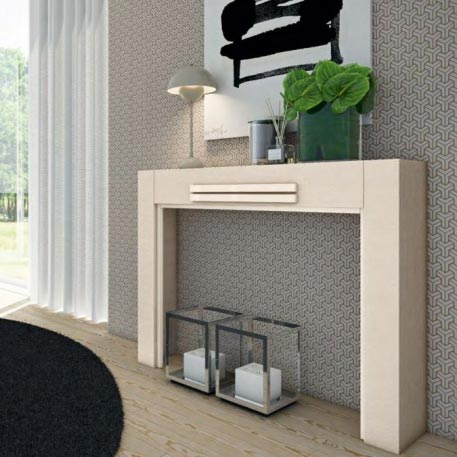 Century High Gloss or Wood Veneer Console Table
