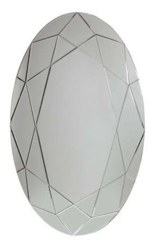 Prestige Medium Oval Mirror