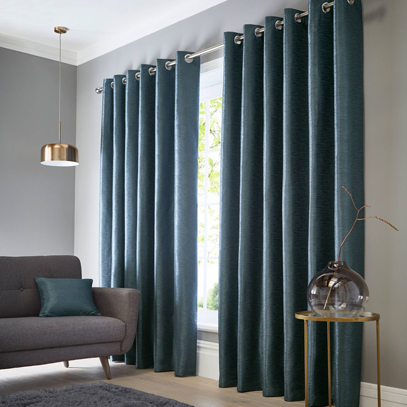 Catalonia Ocean Readymade Eyelet Curtain
