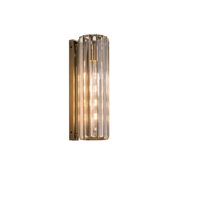 Regan Brass & Crystal Wall Light