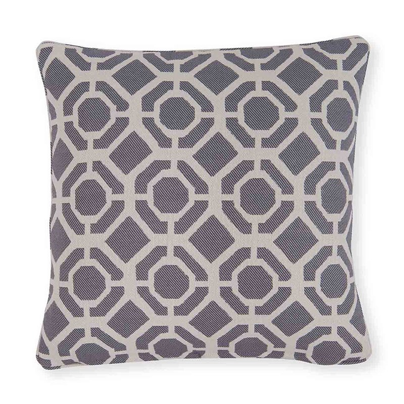 Castello Charcoal Square Cushion
