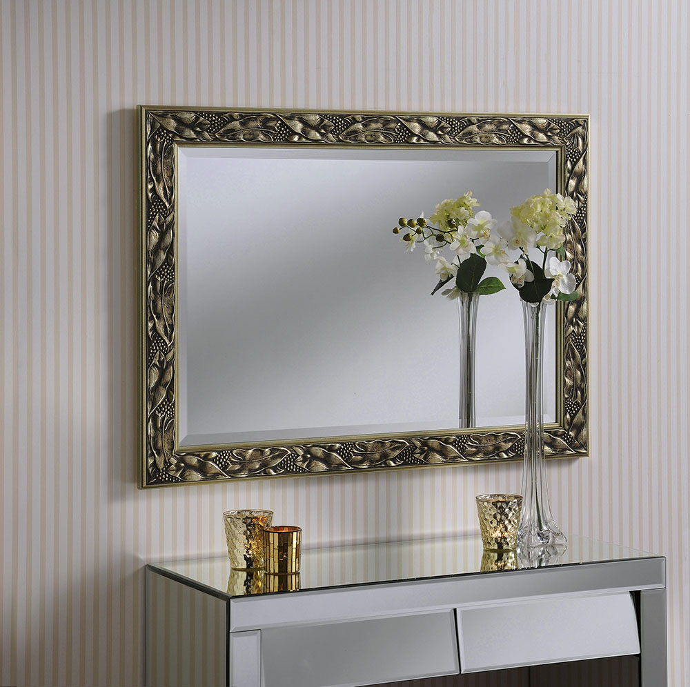 Champagne Rectangular Mirror