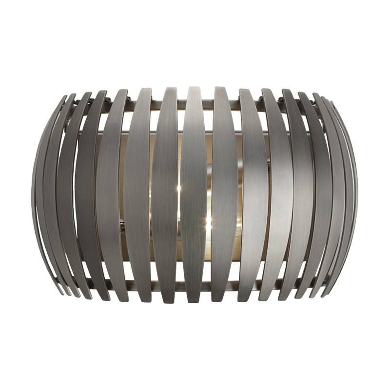 Dean Gun Metal Grey Wall Light