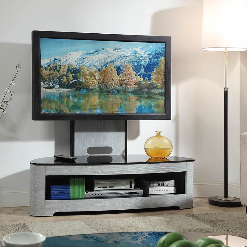 Florence Grey Cantilever TV Stand