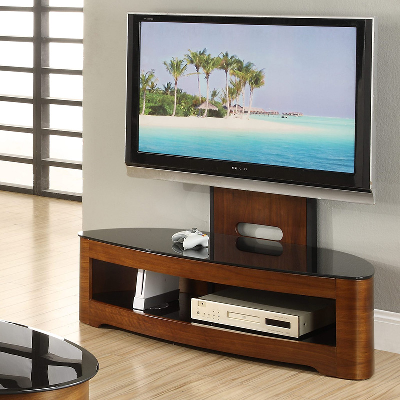 Florence Walnut Cantilever TV Stand