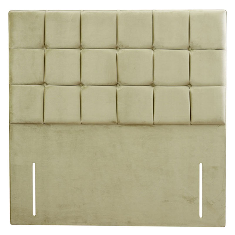 Joyous Buttoned Headboard - Various Colours & Sizes