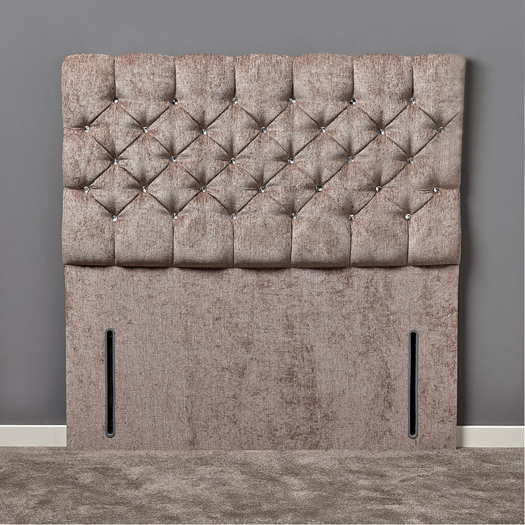 Claudia Diamante or Buttoned Headboard