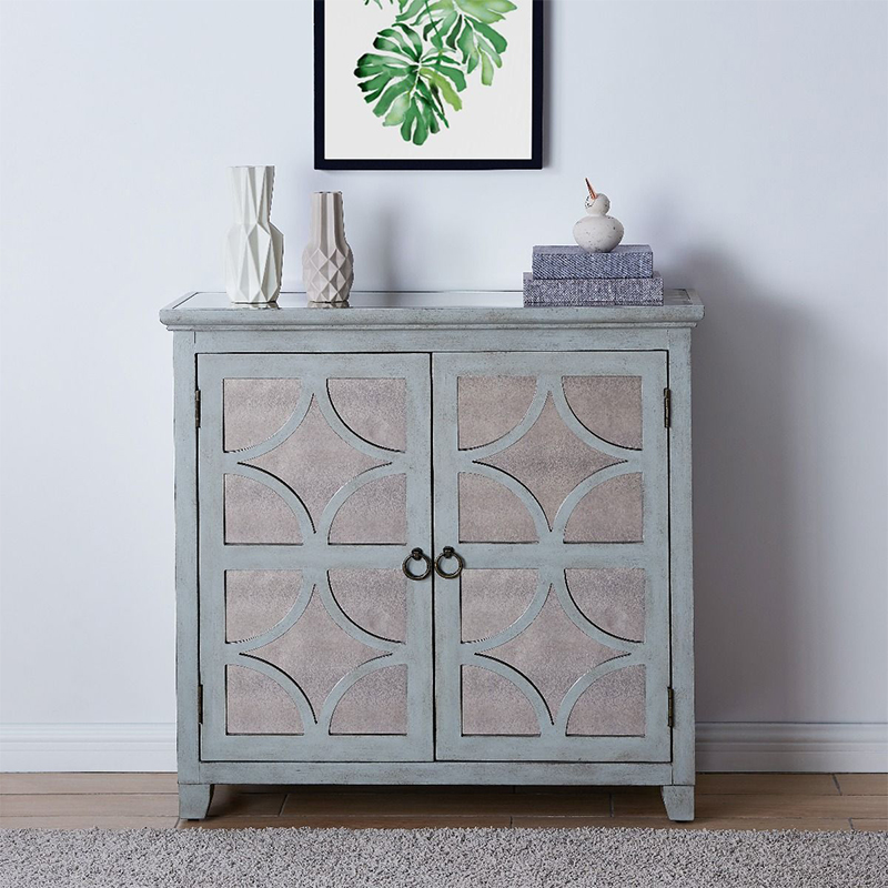 Russell Painted Wood 2 Door Chest