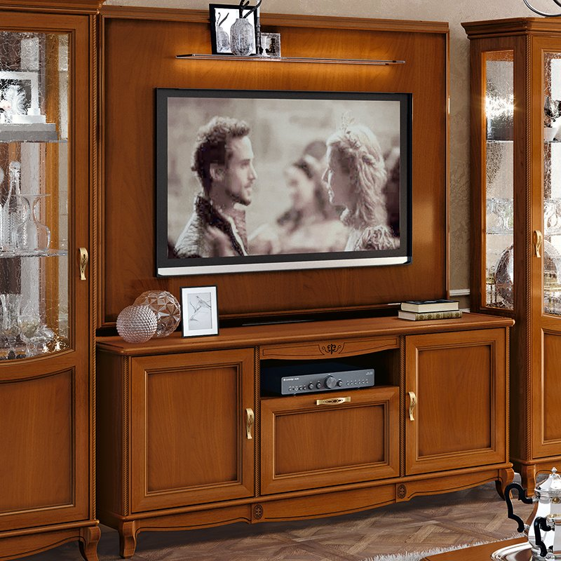 Fabrina Walnut TV Unit