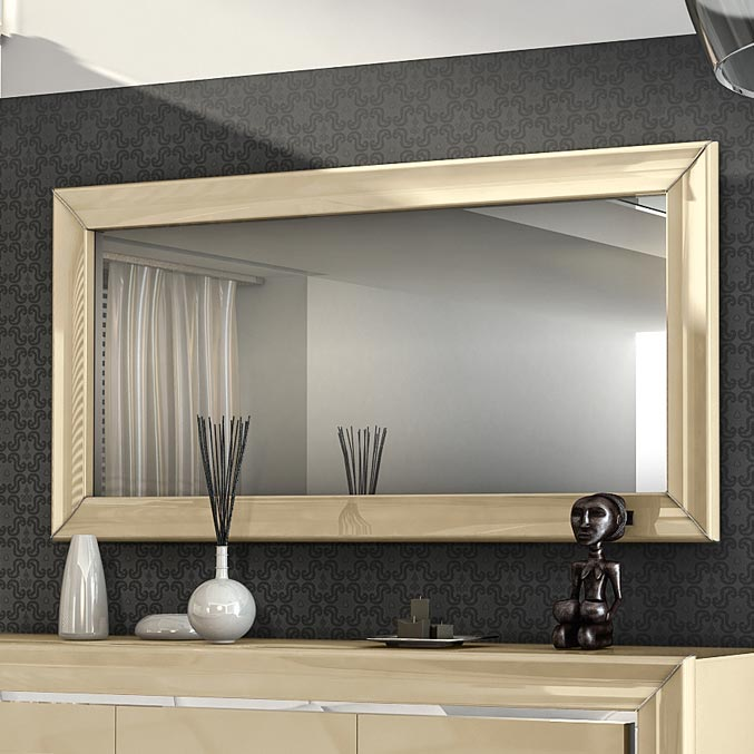 Minton Ivory High Gloss Mirror
