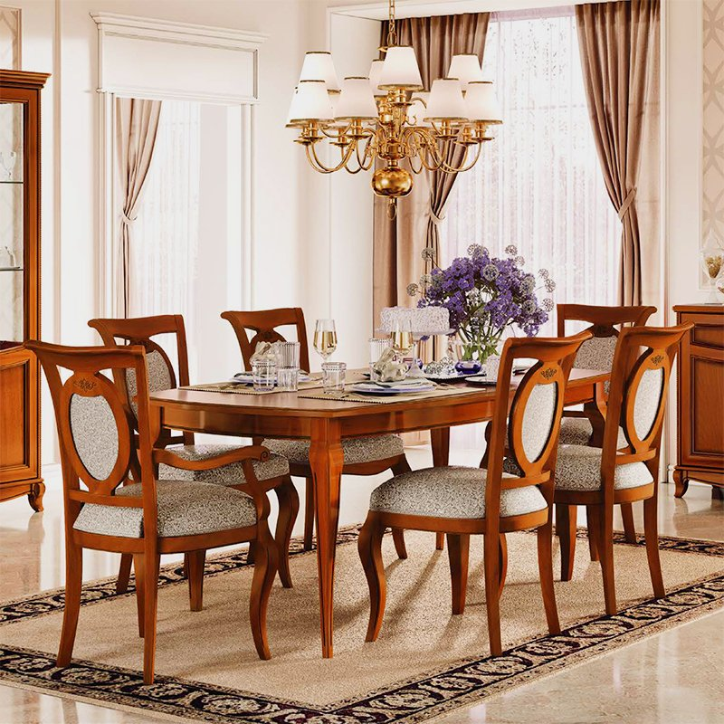 Fabrina Walnut 1.4m - 1.85m Extending Dining Table