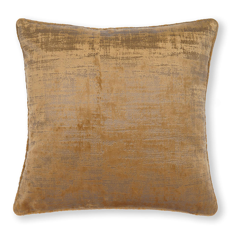 Naples Gold Square Cushion