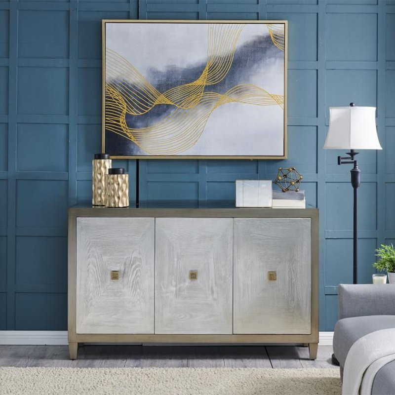 Nova Painted Wood 3 Door Sideboard