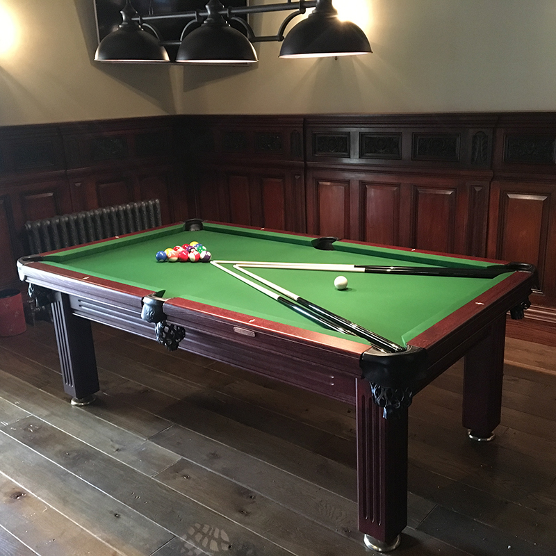 Oporto 6ft Solid Hardwood Pool & Entertainment Dining Table