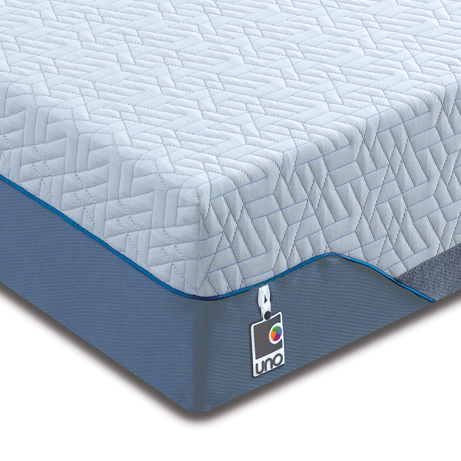 Breasley UNO Pocket 1000 Ortho 4ft6 Double Mattress (20cm deep)