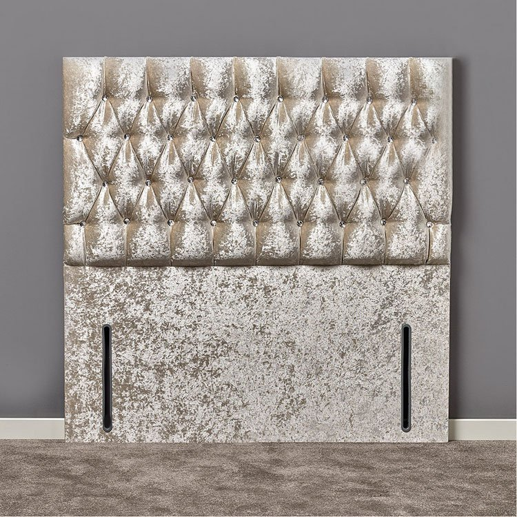 Elizabeth Diamante or Buttoned Headboard