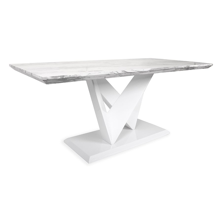 Serena Grey Marble 1.8m Dining Table