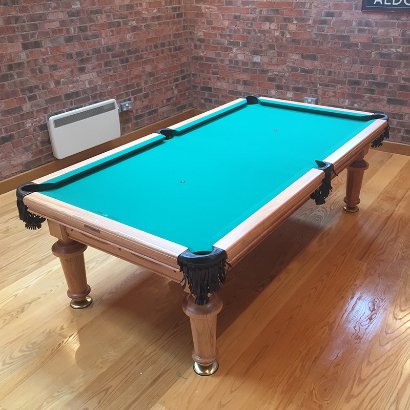 The Classic 7ft Solid Hardwood Pool Entertainment Dining Table