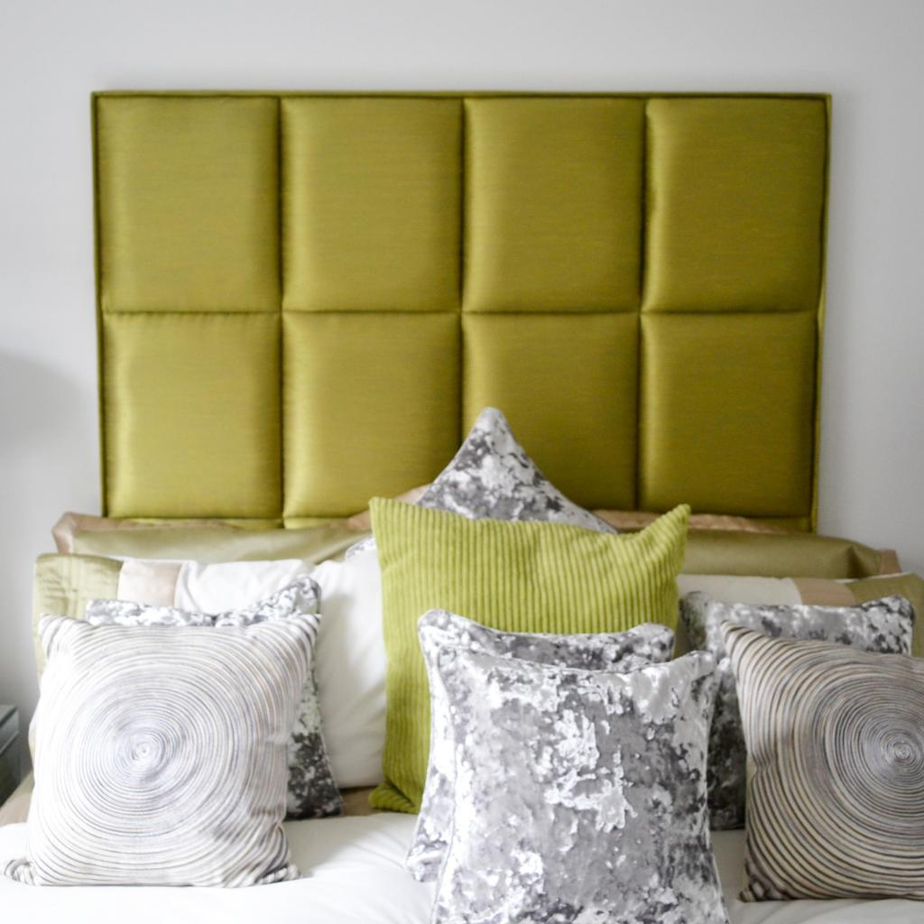 Bespoke Manhattan Luxury Silk Headboard (Various Options)