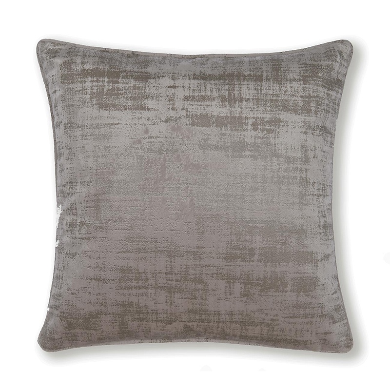 Naples Taupe Square Cushion