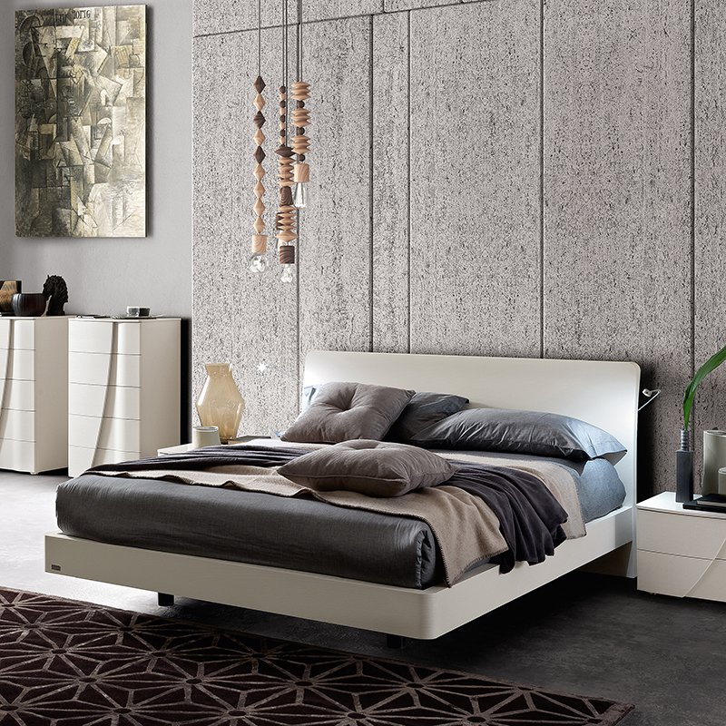 Lana Eclisse White Ash 6ft Bed