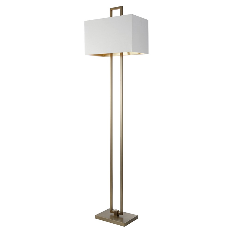 Danby Antique Brass Floor Lamp