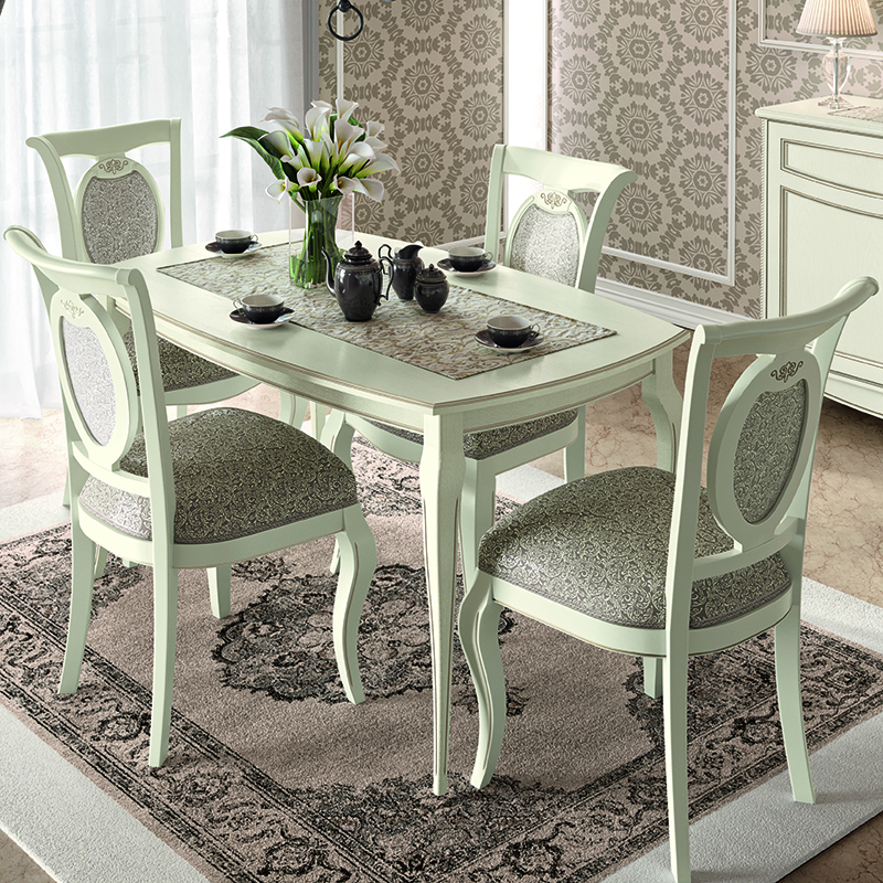 Fabrina Ivory Ash 1.4m - 1.85m Extending Dining Table