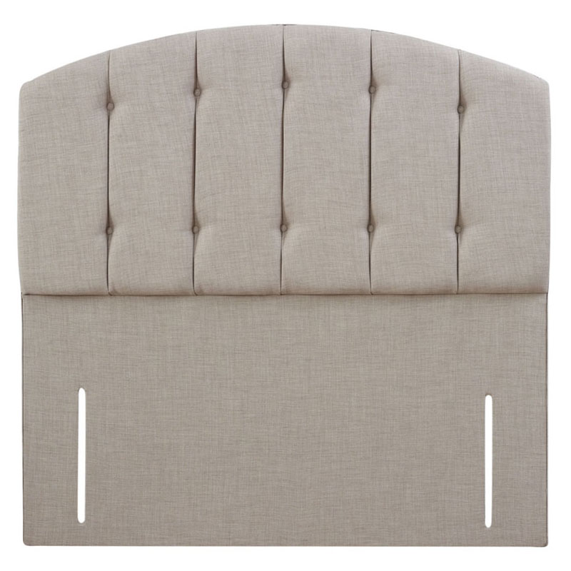 Delight Buttoned Curved Headboard - Various Colours & Sizes