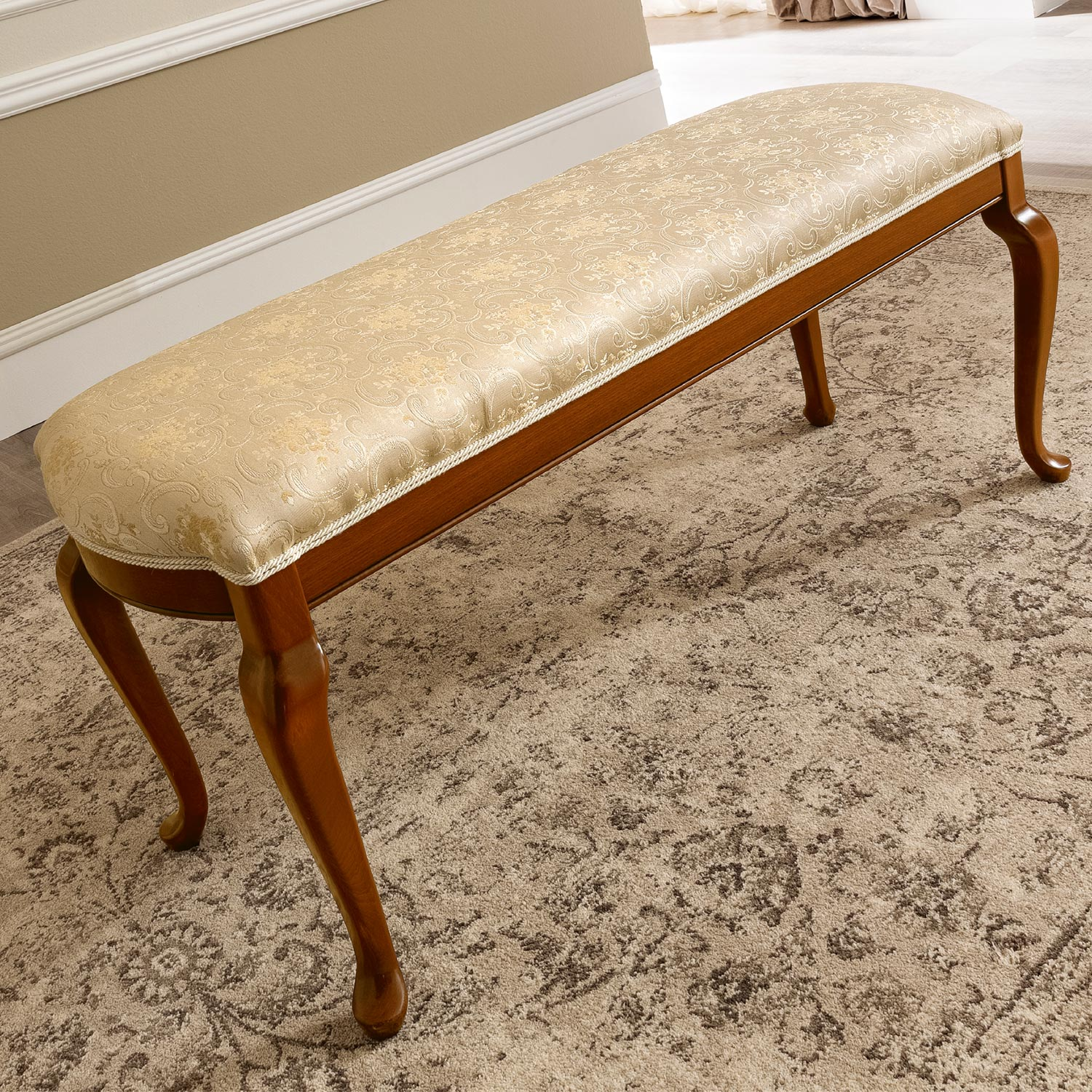 Treviso Cherry Dressing Table Bench