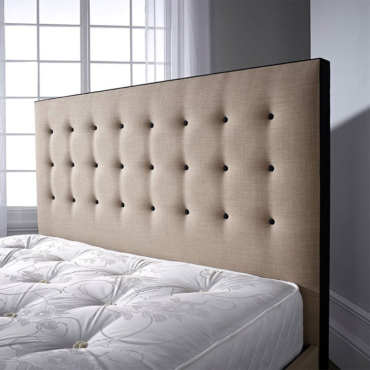 Paris Fabric Diamante or Buttoned Headboard