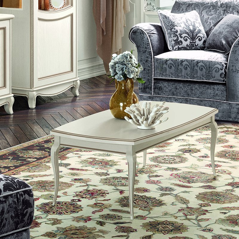 Fabrina Ivory Ash Coffee Table