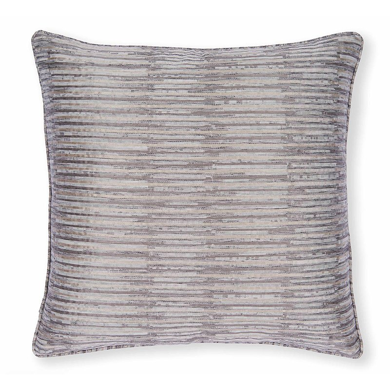 Campello Charcoal Square Cushion
