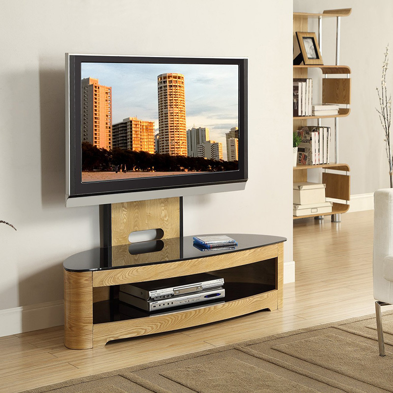 Florence Oak Cantilever TV Stand