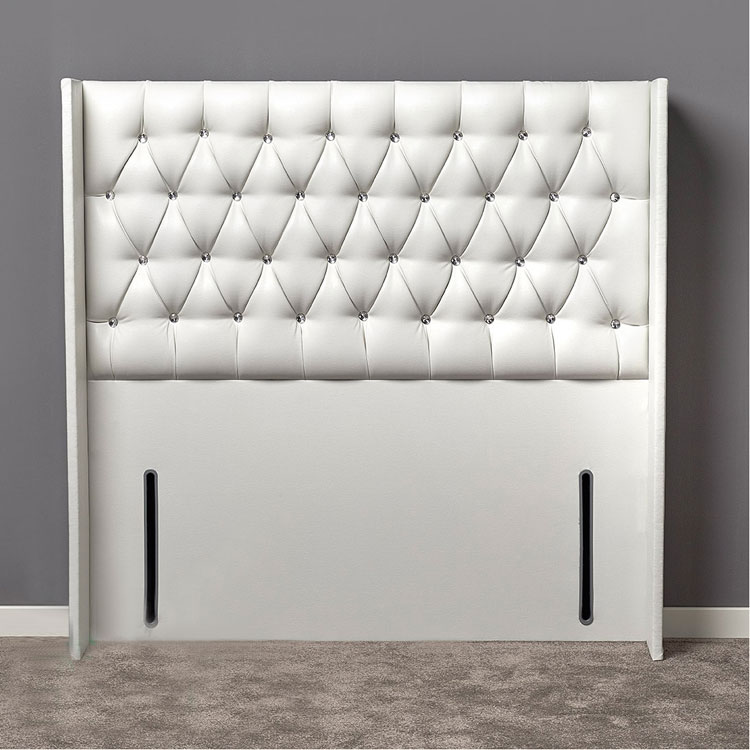 Gabriella Curved Diamante or Buttoned Headboard