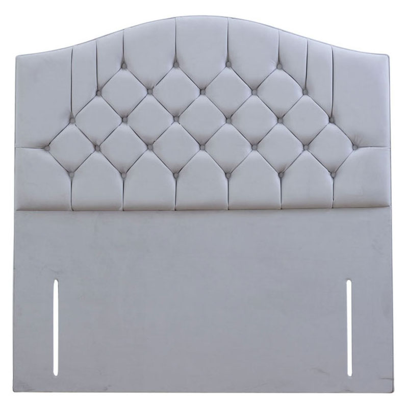 Superior Buttoned Curved Headboard - Various Colours & Sizes